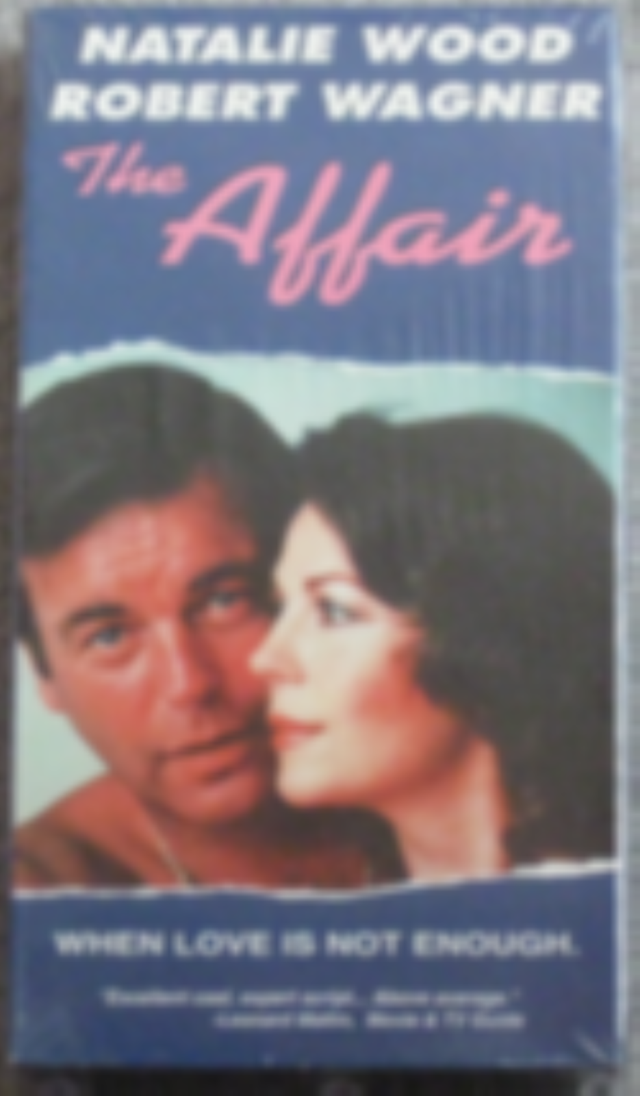 The Affair Vhs