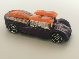 Mattel Race Car Made for McDonalds Metallic Purple Pop Up Exhausts 2006 ... - $5.40