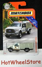 2019  Matchbox  White  '10 FORD ANIMAL CONTROL TRUCK    Card #81    MB2-... - $2.50
