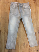 Girl's 7 For All Mankind 'The Skinny' Slim Fit Jeans, Size 5- Grey - $39.59