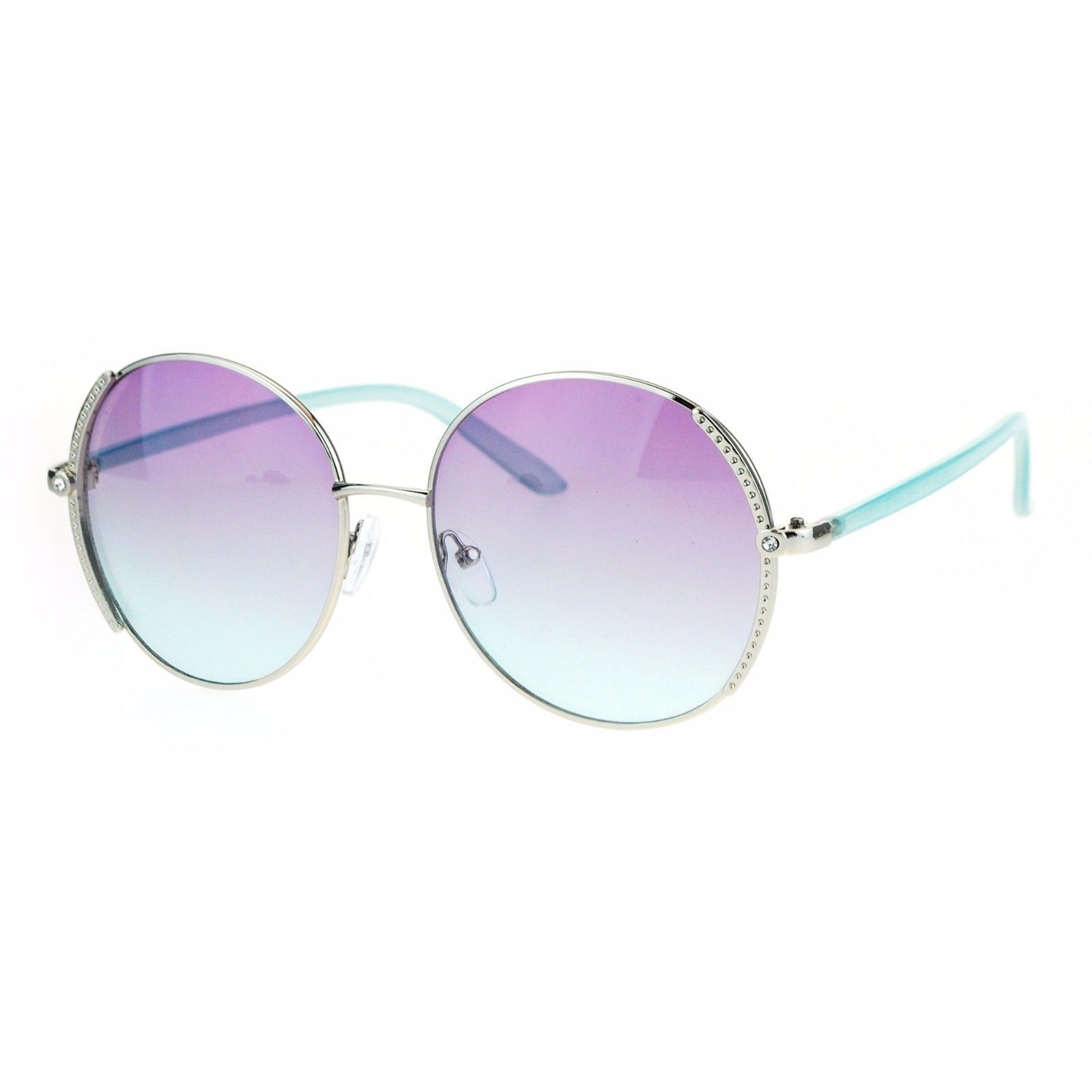 Womens Fashion Sunglasses Classy Stylish Round Frame UV 400