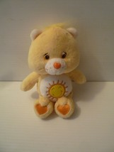 "Care Bear 2002 Funshine Bear Bean Bag Plush Stuffed Animal 8"" - $9.89"
