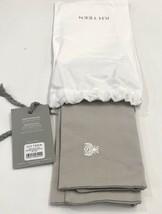 Restoration Hardware Embroidered Bee Boudoir Sham Cotton Grey NEW $32 - $21.99