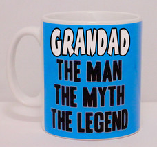 Grandad The Man The Myth The Legend Can Personalise Mug Funny Grandpa Gr... - $9.78