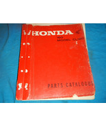 1966 1967 1968 66 67 68 HONDA CL160 CL 160 PARTS MANUAL BOOK CATALOG - $156.85