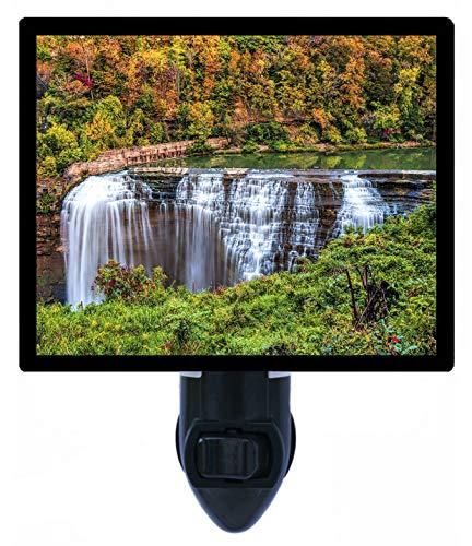 Light Fixtures Rochester Ny: Waterfall Decorative Night Light, Lower Falls Rochester