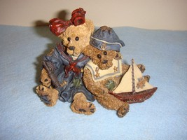 Boyds Bearstone Elvira And Chauncey FitzBruin Shipmates, #227708 - $11.79