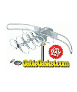 LAVA HD-2805 Ultra Remote Controlled HDTV Antenna with G3 Control Box - $89.95