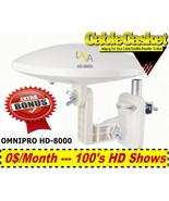 LAVA-HD-8000-360-DEGREES-HDTV-DIGITAL-AMPLIFIED-OUTDOOR-TV-ANTENNA-HD-VH... - $89.95