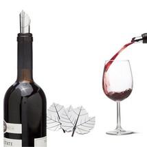 Wine Bar Tools Corks Funky Gifts Fine Vine Poure Aluminum  x 2 set Bottl... - $19.00