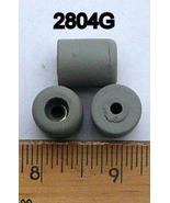 Pack Of 15 Grey Recessed Rubber Bumpers 2804G - $9.95