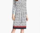 Anne klein black camellia multi tie front wicker print dress product 1 14480220 585165964 thumb155 crop