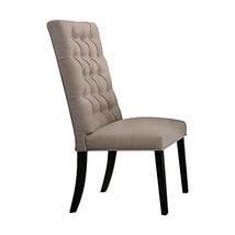 Acme Furniture Morland Side Chair, Tan/Vintage Black - $478.19