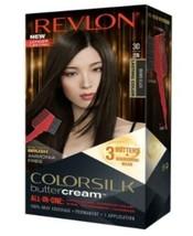 Revlon Luxurious Colorsilk Buttercream, Brown Black - $9.99