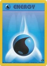 Water Energy 132/132 Common Gym Challenge Pokemon Card - $0.69