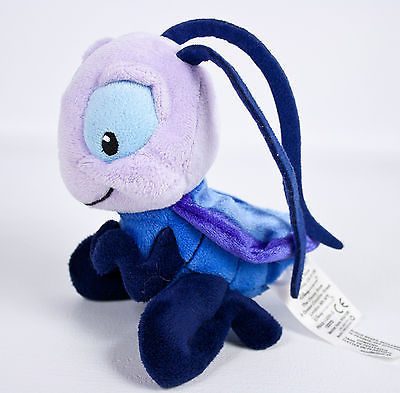 "Primary image for Disney Store Cri-Kee Cricket 6"" Plush Purple Stuffed Animal Mulan Crickee Crikee"