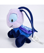 "Disney Store Cri-Kee Cricket 6"" Plush Purple Stuffed Animal Mulan Crickee Crikee - $15.99"
