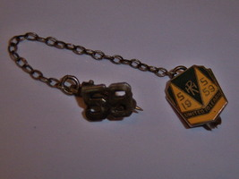 Tiny Vintage 1959 Silver United To Learn Pin. Collectible But Small Scholastic P - $15.00
