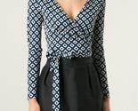 Diane von furstenberg blue behati wrap top product 1 27582974 0 610709097 normal large flex thumb155 crop