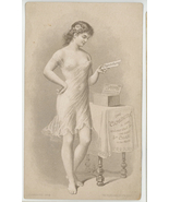 Capadura 5 cent Cigar Victorian trade card antique vintage advertising r... - $35.00