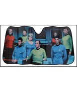 NEW! Star Trek Captain Kirk Spock Car Auto Windshield Sun Shade Sunshade... - $24.95