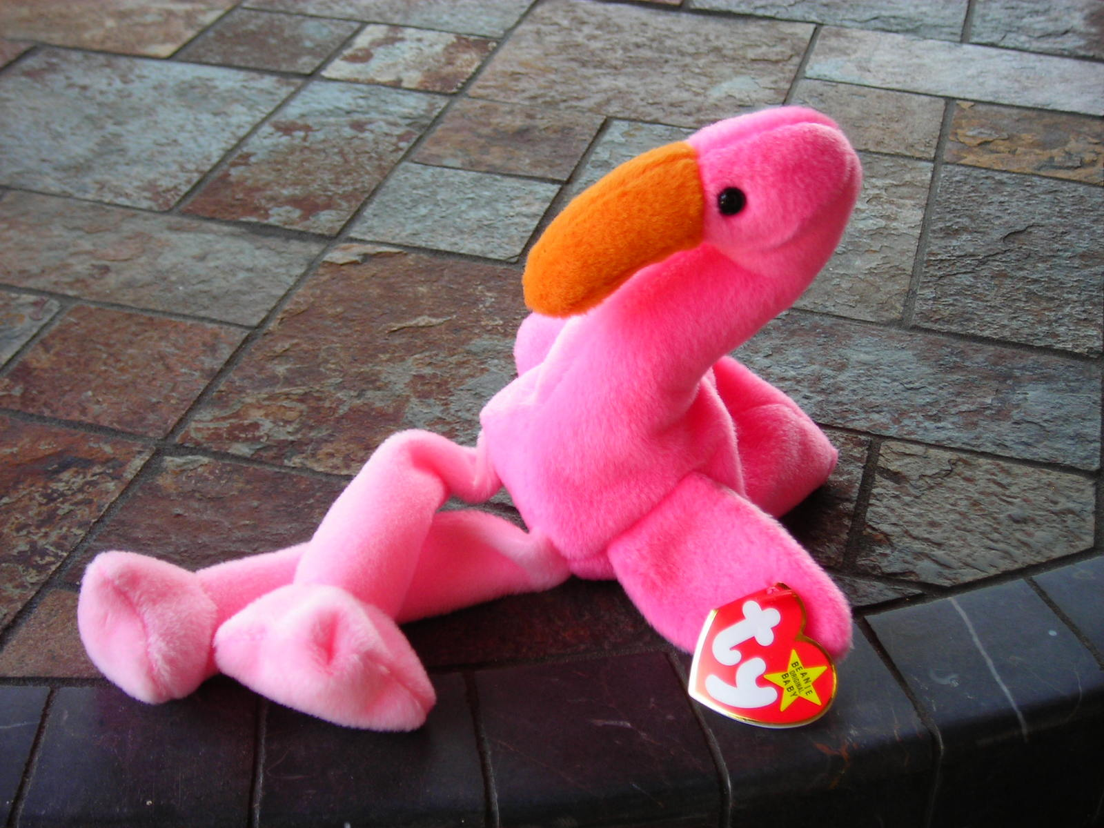 Pink Flamingo, Beanie Baby Pinky, Ty Inc, Beanie Babies Collectible, Pink Decor, Gift for Girl, Girls Bedroom Decor, Style TheresasSewingShop. 5 out of 5 stars () $ Favorite Add to See similar items + More like.