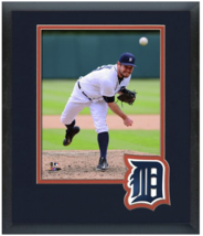 Alex Wilson 2015 Detroit Tigers - 11 x 14 Team Logo Matted/Framed Photo - $42.95
