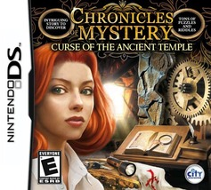 Chronicles of Mystery: Curse of the Ancient Temple  - $15.00