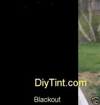 Black out glass window tinting film BlackOut Tint 37X60 - $28.04