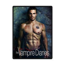 "Custom Blanket 80""x58"" Vampire Diaries Stephan 375968 - $73.11 CAD"