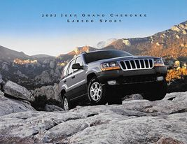 2002 Jeep GRAND CHEROKEE LAREDO SPORT sales brochure sheet US 02 - $6.00