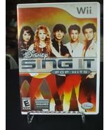 Disney Sing It: Pop Hits (Nintendo Wii, 2009) - $5.93