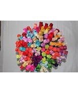 One Dozen Wooden Roses Buds  -- Choose the color you want - $8.99
