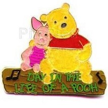 Winnie the Pooh and Piglet  Day in the Life of Pooh Magical Authentic Di... - $19.34