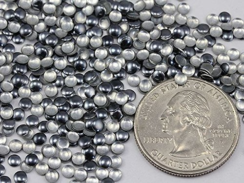 Primary image for 3mm Grey Gun Metal H7 Nail Art Metal Gems Round Hot fix Studs - 1000 Pieces