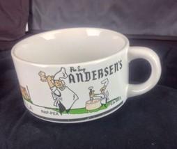 Pea Soup Andersons Soup Cup Mug Hap Pea-Wee Carlsbad Buellton Santa Nella  - $24.26