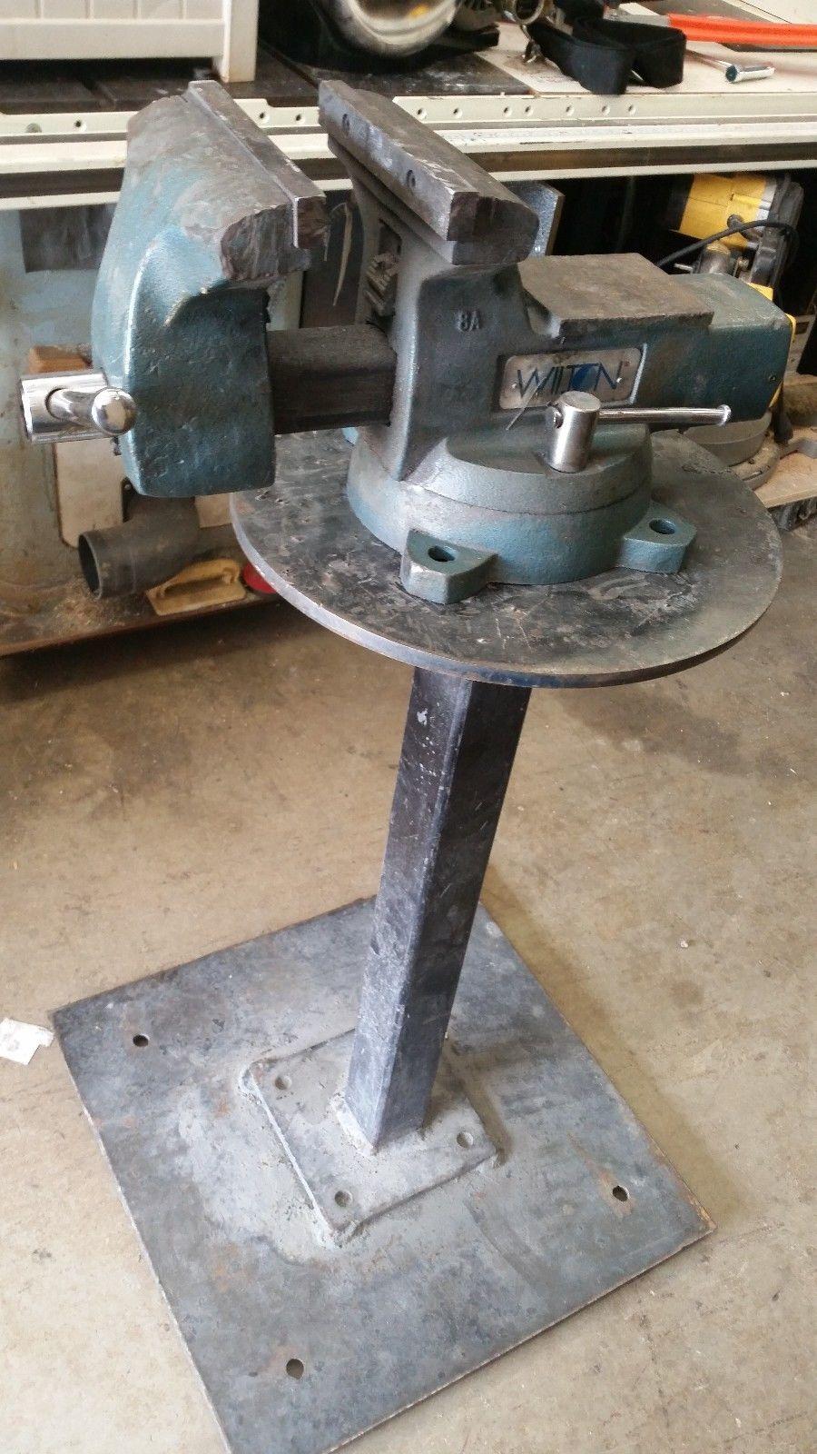 Wilton Mechanics swivel base vise 748A pipe vise 1/2
