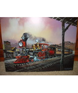 Tin Sign 2002 Blaylock Originals # 82 Train Rollin Thru  Multi-Color - $25.00