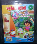 Vtech Whiz Kid DORA THE EXPLORER SAVE THE SCHOOL DAY - $17.96