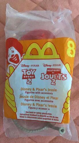 Disney Toy Story 2 Woodys Roundup 1999 McDonalds Jessie NIP Sealed #8