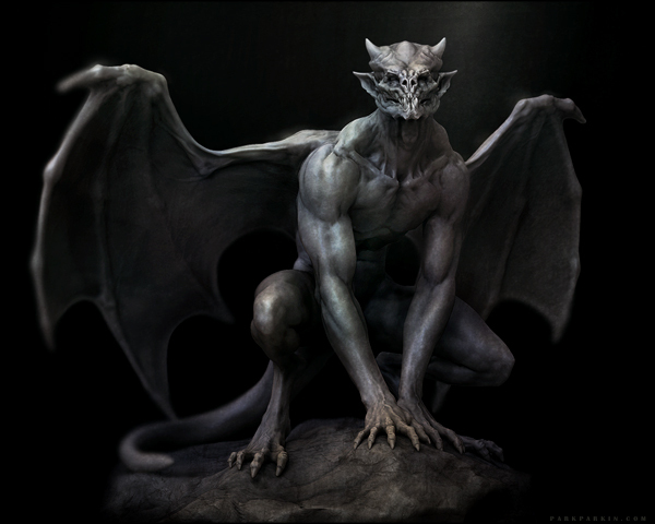 Custom Conjured Gargoyle - Male or Female – Guardians of Power Lifeforce Magick