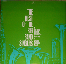 The Best Of The Big Band Singers    D-405    LP - $9.00