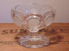 Fostoria Commemorative Clear Coin Glass Jelly C... - $1.96