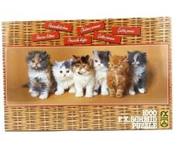 Persian Kittens 1000 Piece Jigsaw Puzzle FX Schmid Rolf Hinz Cats - $42.31