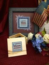 Flag Box  Box Fob Kit cross stitch kit Shepherd's Bush - $12.00