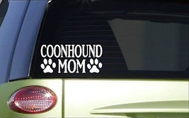 Coonhound Mom *H808* 8 inch Sticker decal coonhunting e collar dogbox leash coon - $3.99