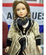 ADORABLE LARGE VICTORIAN STYLE DOLL WITH  STAND - $24.00