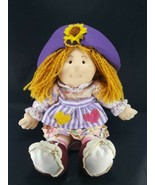 Doll Sweetie Pie Kids Tessa 14in Dressed Yarn Hair Soft Rag Doll Stuffed... - $15.14