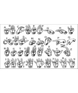 Sign Language Fridge Magnet - $3.95
