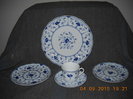 5 pcs. no 1 christineholm porcelaine echt colbalt made in germany thumb200